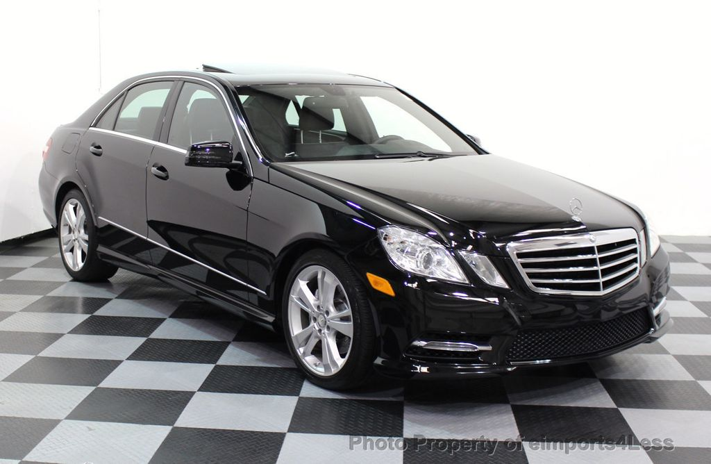 Marvelous 2013 Mercedes Benz E Class CERTIFIED E350 4Matic Sport Package AWD CAMERA /  NAVI
