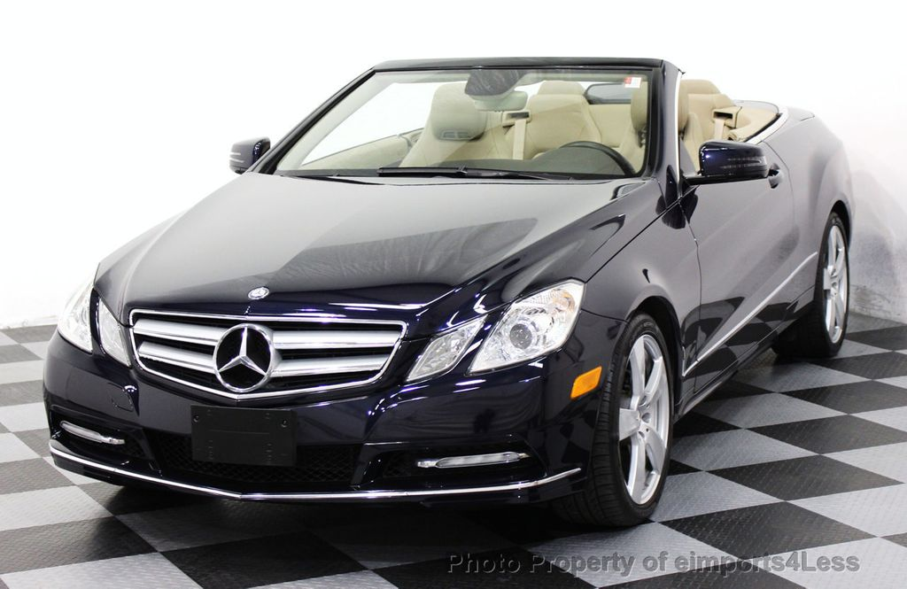 2013 used mercedes benz e class certified e350 sport package convertible navigation at. Black Bedroom Furniture Sets. Home Design Ideas