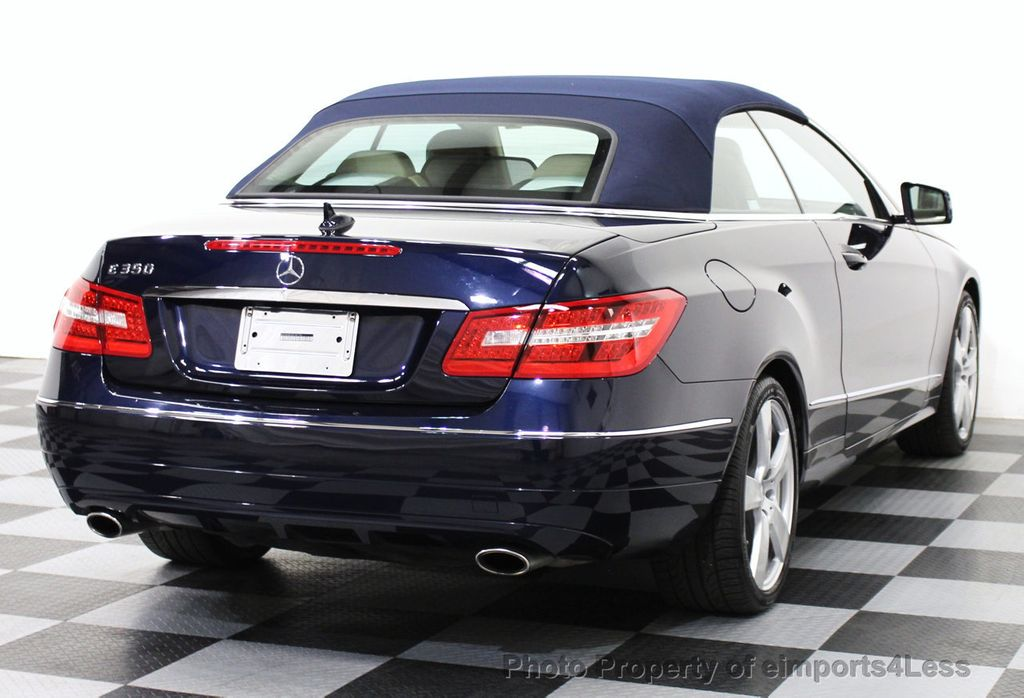 2013 used mercedes benz e class certified e350 sport for Used mercedes benz e350 convertible
