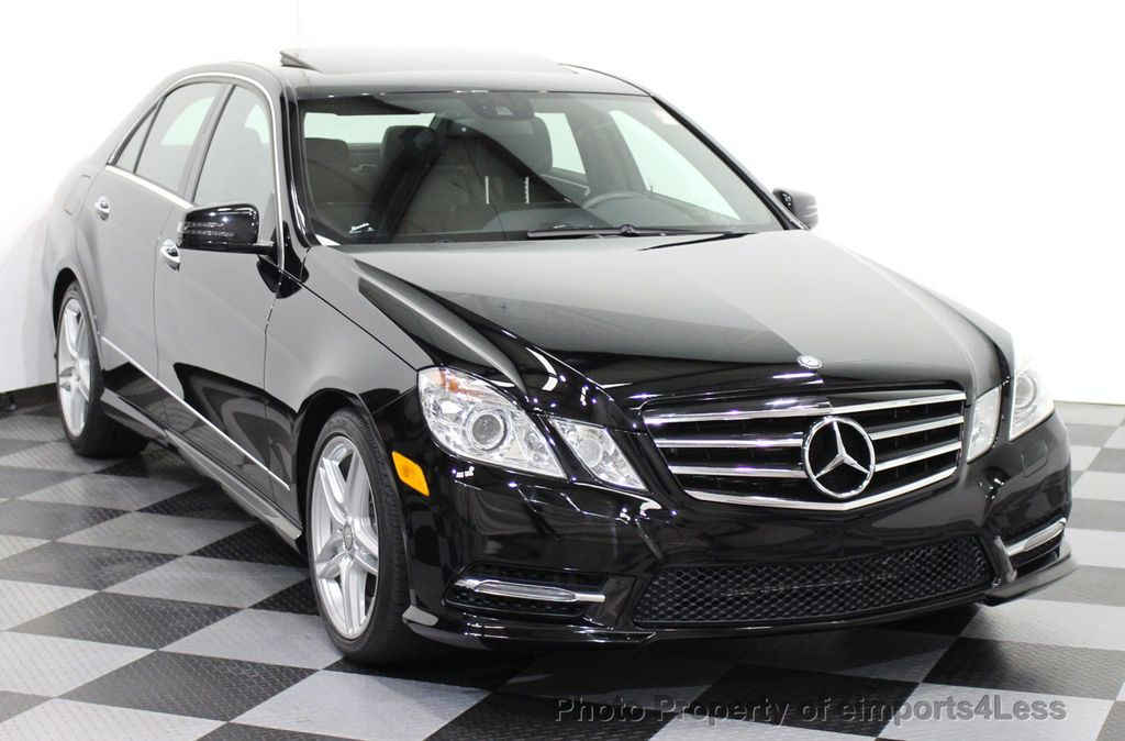 2013 used mercedes benz certified e550 4matic v8 amg sport
