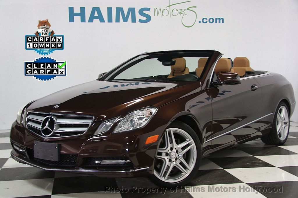 2013 used mercedes benz e class e 350 2dr cabriolet e350 rwd at haims motors serving fort. Black Bedroom Furniture Sets. Home Design Ideas