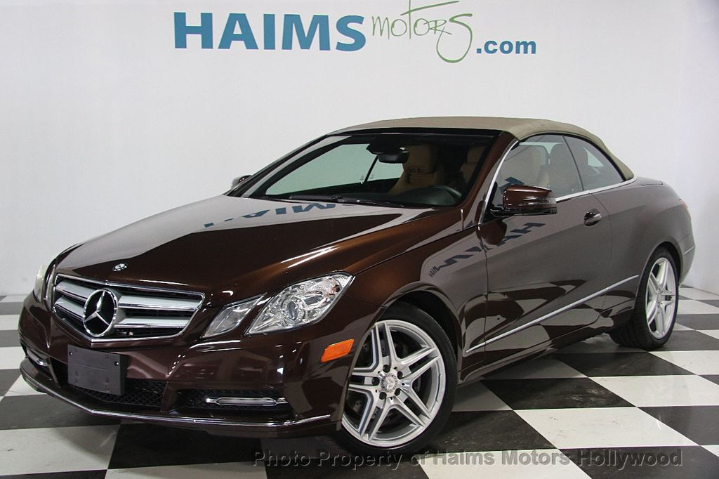 2013 used mercedes benz e class e 350 2dr cabriolet e350 rwd at haims motors ft lauderdale. Black Bedroom Furniture Sets. Home Design Ideas
