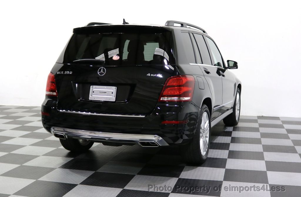 2013 Mercedes-Benz GLK CERTIFIED GLK350 4Matic AWD MultiMedia CAMERA PANO NAV - 17808897 - 18