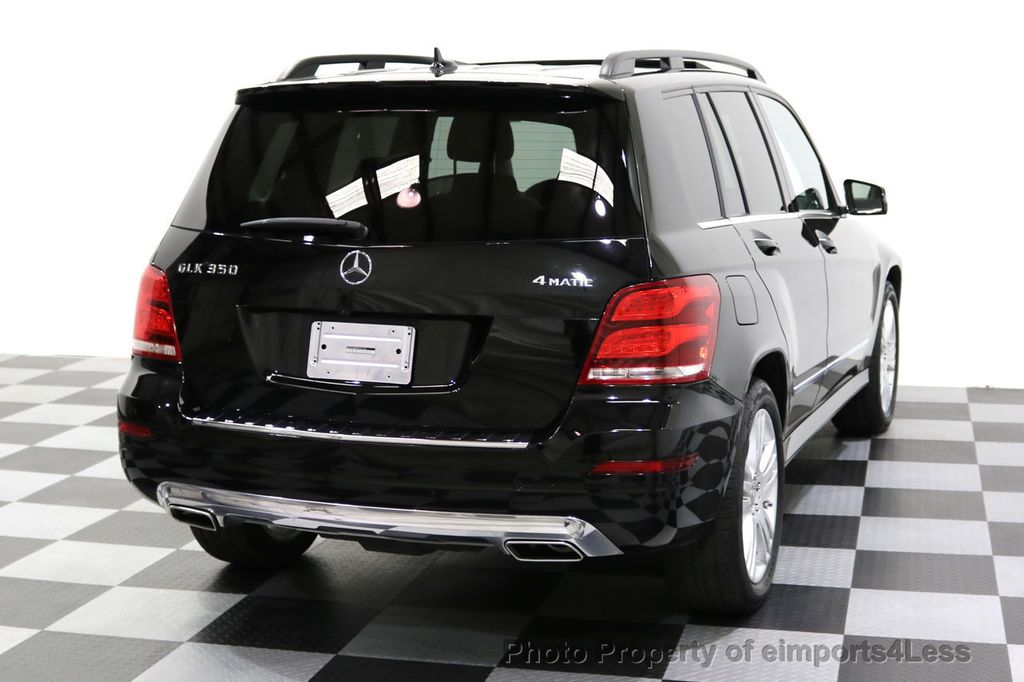 2013 Mercedes-Benz GLK CERTIFIED GLK350 4Matic AWD MultiMedia CAMERA PANO NAV - 17808897 - 32