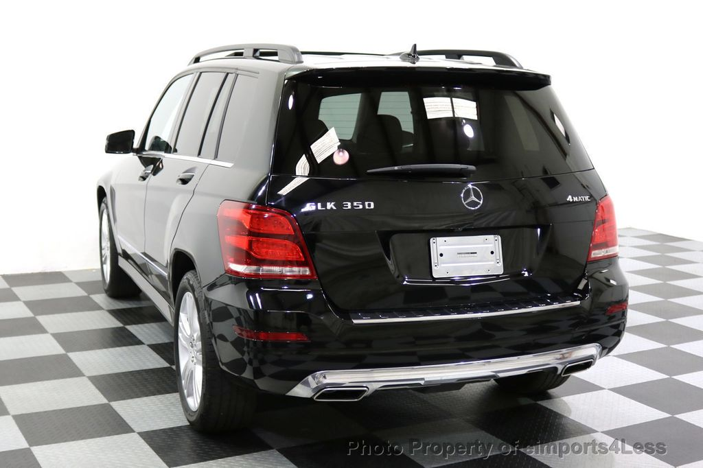 2013 Mercedes-Benz GLK CERTIFIED GLK350 4Matic AWD MultiMedia CAMERA PANO NAV - 17808897 - 45