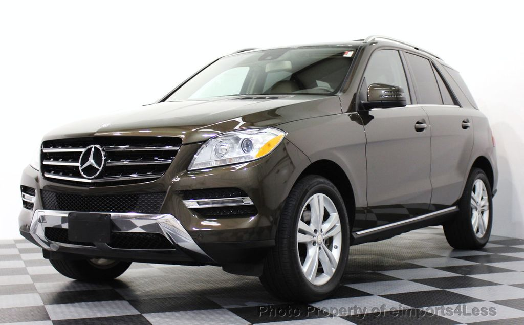 2013 used mercedes benz m class certified ml350 4matic awd for Mercedes benz suv used for sale