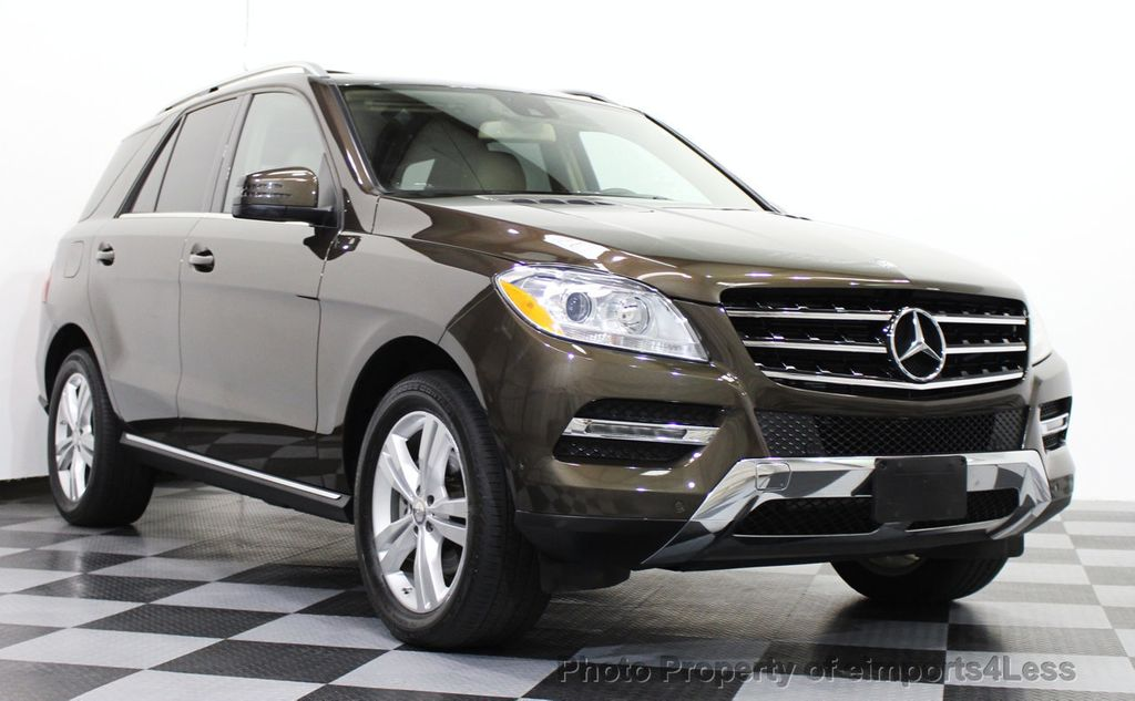 2013 used mercedes benz m class certified ml350 4matic awd for Mercedes benz suv 2013 for sale