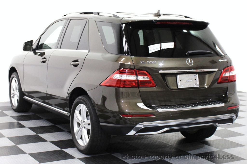 2013 Used Mercedes Benz M Class Certified Ml350 4matic Awd Suv Blind