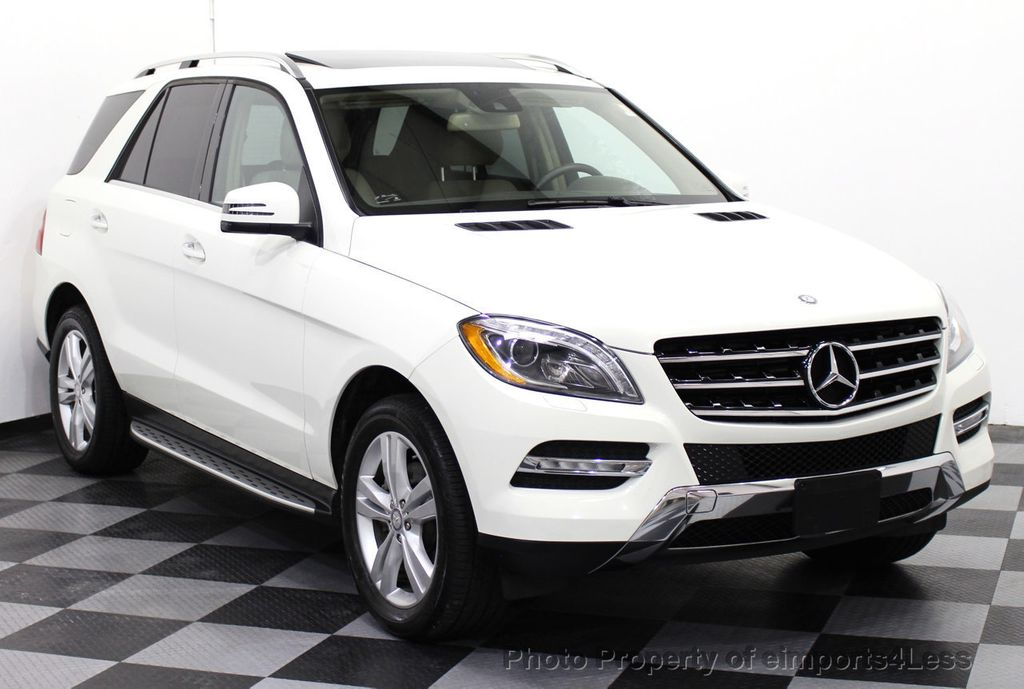 2013 Used Mercedes Benz M Class Certified Ml350 4matic Awd