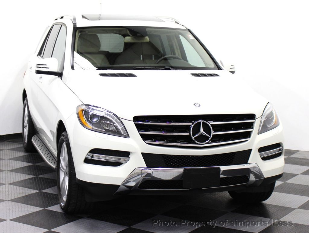 2013 used mercedes benz m class certified ml350 4matic awd suv blis camera navigation at. Black Bedroom Furniture Sets. Home Design Ideas
