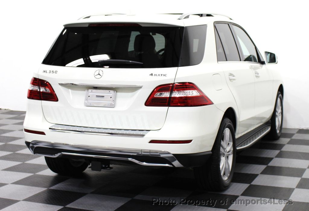 2013 used mercedes benz m class certified ml350 4matic awd for Mercedes benz m class 2013