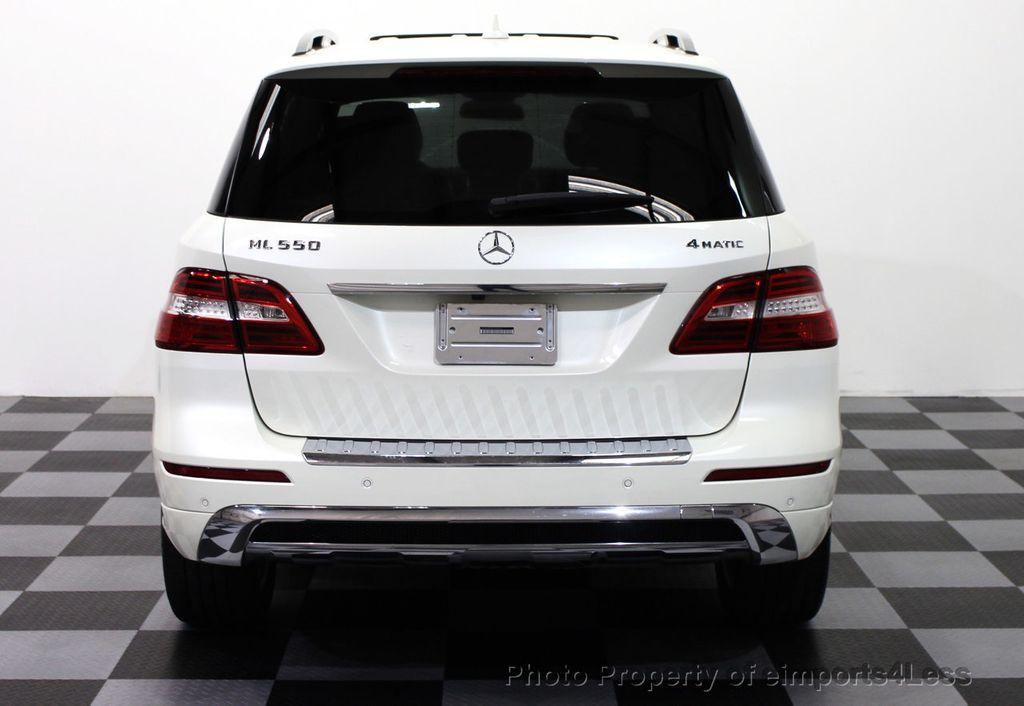 2013 used mercedes benz m class certified ml550 v8 awd cam. Black Bedroom Furniture Sets. Home Design Ideas