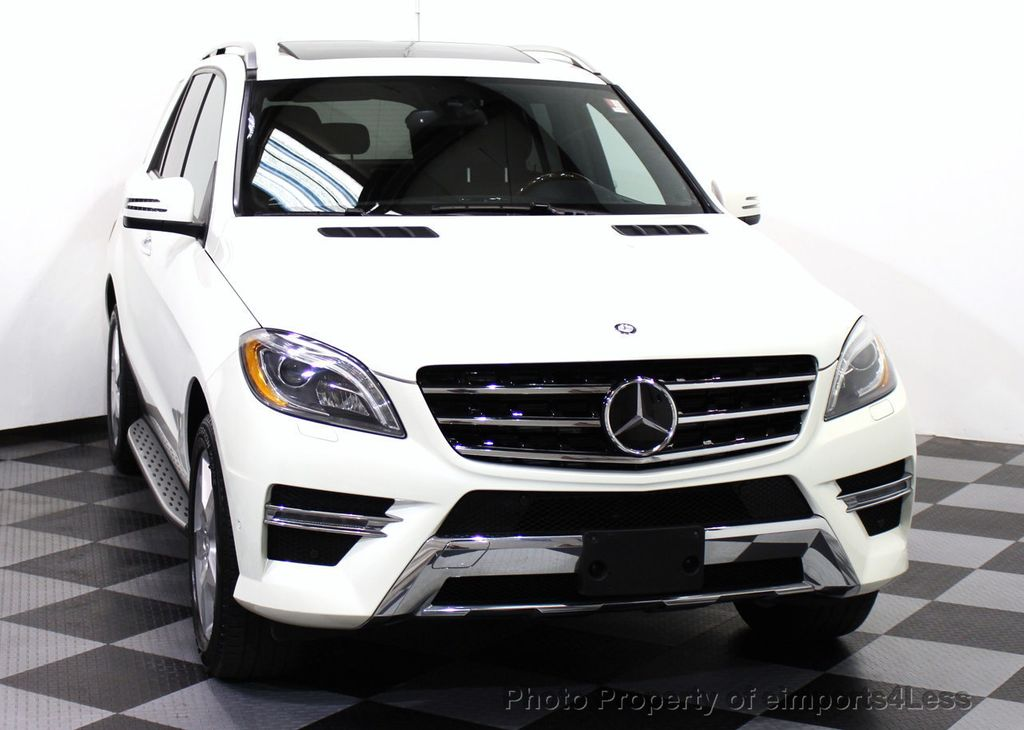 2013 used mercedes benz m class certified ml550 v8 awd cam blis full leather navi at. Black Bedroom Furniture Sets. Home Design Ideas