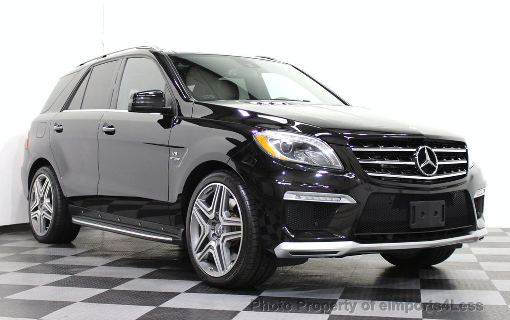 2013 used mercedes benz certified ml63 amg 4matic p30. Black Bedroom Furniture Sets. Home Design Ideas