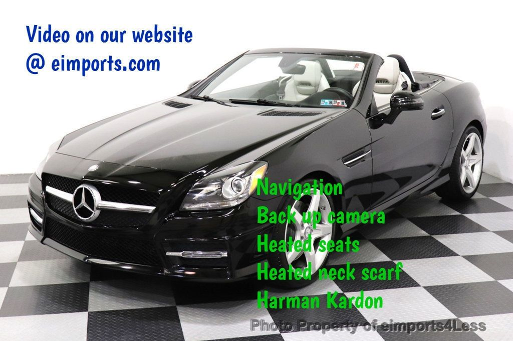 2013 Mercedes-Benz SLK CERTIFIED SLK250 AMG Sport Package NAVIGATION XENON - 18398379 - 0