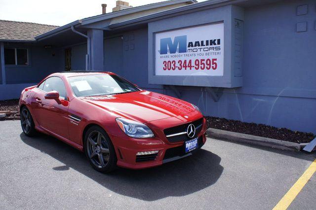 2013 Used Mercedes Benz Slk55 Amg At Maaliki Motors Serving Aurora Denver Co Iid 17501664