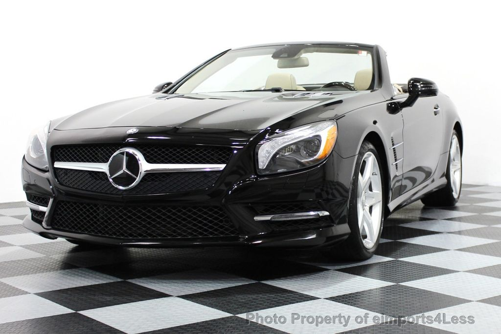 2013 used mercedes benz certified sl550 amg sport package for Mercedes benz convertible used