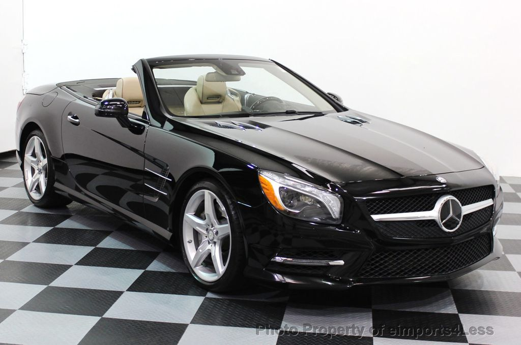 2013 used mercedes benz certified sl550 amg sport package for Mercedes benz sl convertible