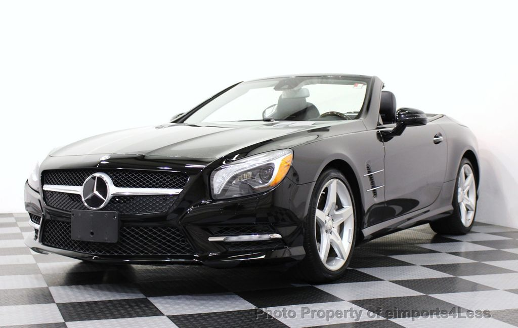 2013 used mercedes benz certified sl550 amg sport roadster for Mercedes benz cpo