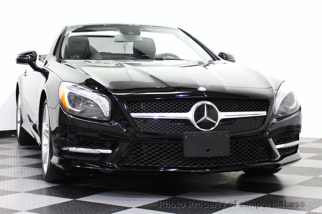 2013 used mercedes benz certified sl550 amg sport roadster for Certified mercedes benz