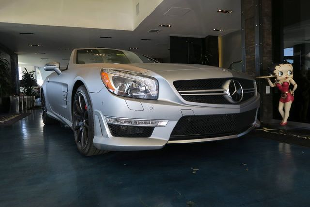 2013 Mercedes-Benz  SL63 AMG - Click to see full-size photo viewer