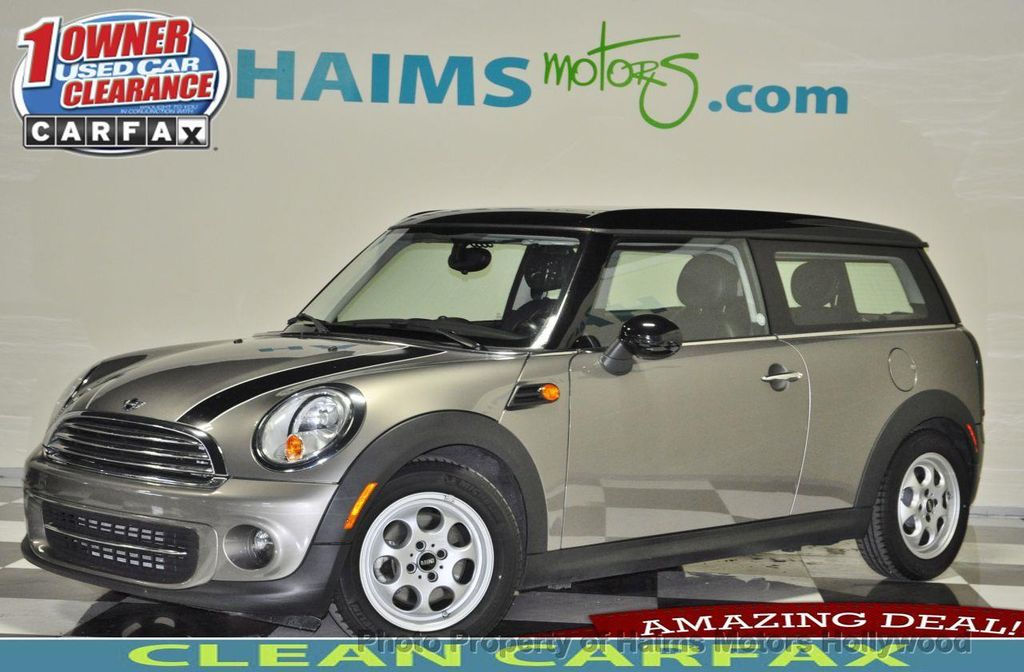2013 Used Mini Cooper Clubman 2dr Coupe Clubvan At Haims Motors