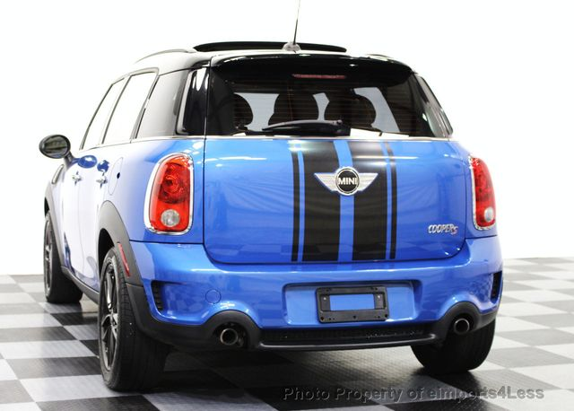 2013 MINI Cooper Countryman CERTIFIED COUNTRYMAN S ALL4 AWD SUV  - 15615018 - 14