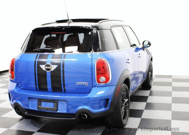 2013 MINI Cooper Countryman CERTIFIED COUNTRYMAN S ALL4 AWD SUV  - 15615018 - 24