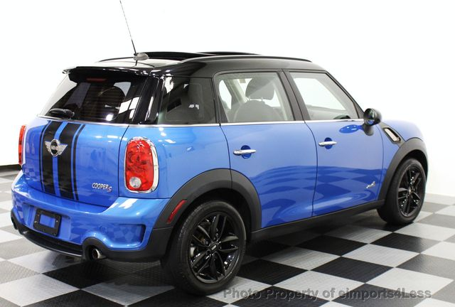 2013 MINI Cooper Countryman CERTIFIED COUNTRYMAN S ALL4 AWD SUV  - 15615018 - 25