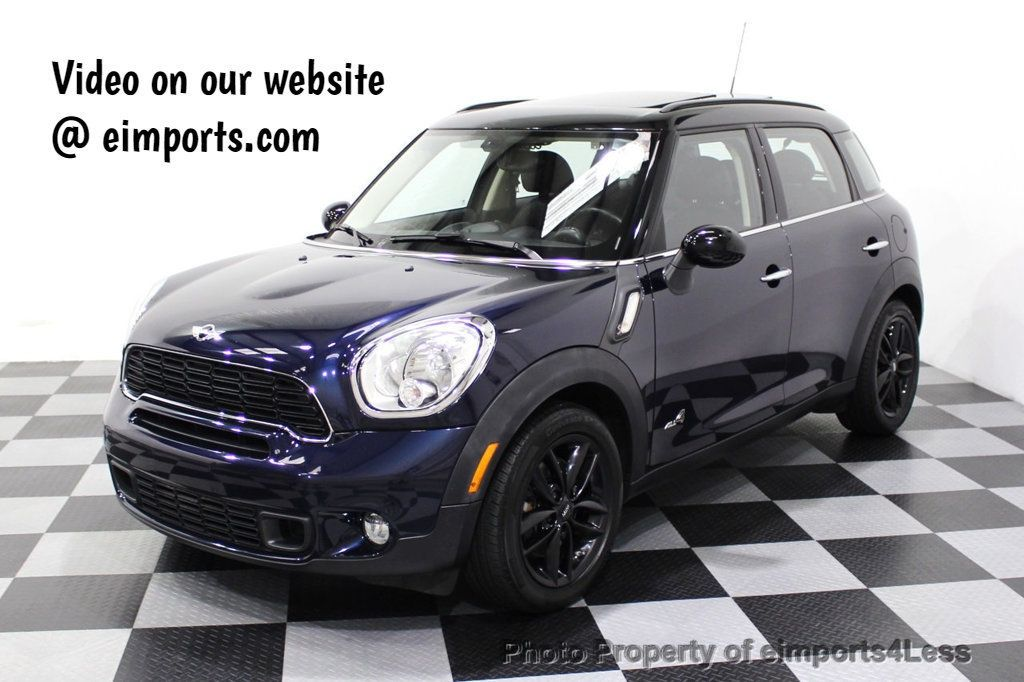 2013 MINI Cooper S Countryman CERTIFIED COUNTRYMAN S ALL4 AWD LEATHER PANO NAVI - 18104445 - 0