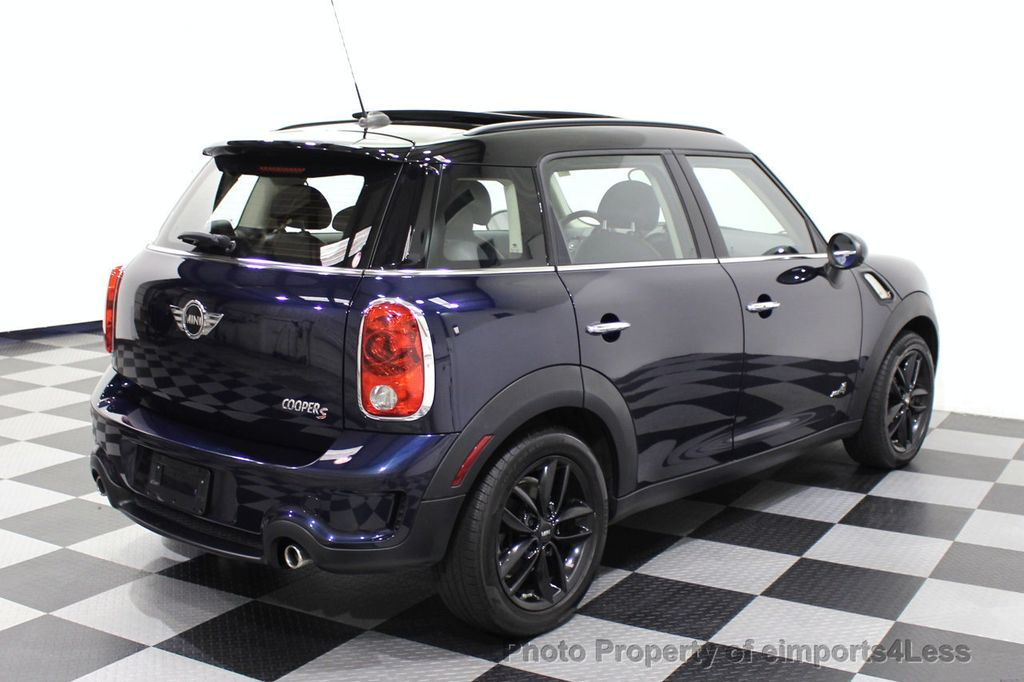 2013 MINI Cooper S Countryman CERTIFIED COUNTRYMAN S ALL4 AWD LEATHER PANO NAVI - 18104445 - 17