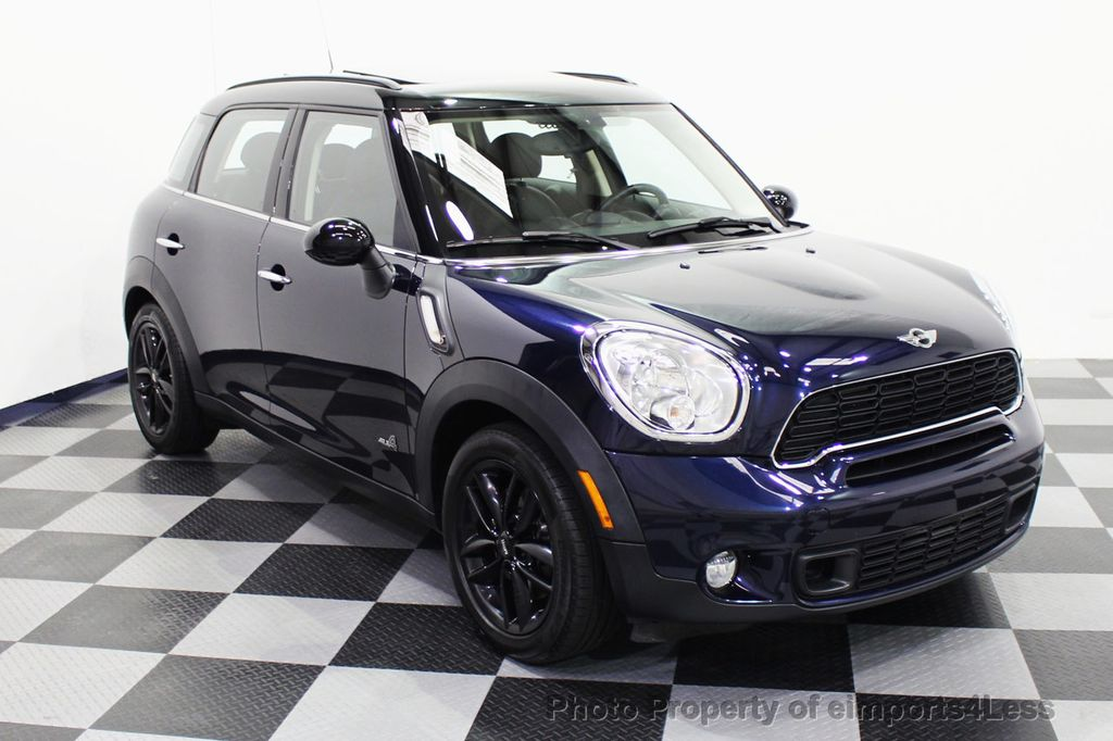 2013 MINI Cooper S Countryman CERTIFIED COUNTRYMAN S ALL4 AWD LEATHER PANO NAVI - 18104445 - 1