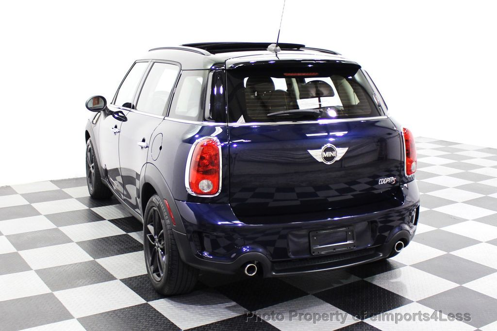 2013 MINI Cooper S Countryman CERTIFIED COUNTRYMAN S ALL4 AWD LEATHER PANO NAVI - 18104445 - 29
