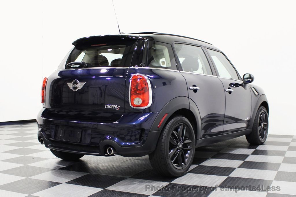 2013 MINI Cooper S Countryman CERTIFIED COUNTRYMAN S ALL4 AWD LEATHER PANO NAVI - 18104445 - 31
