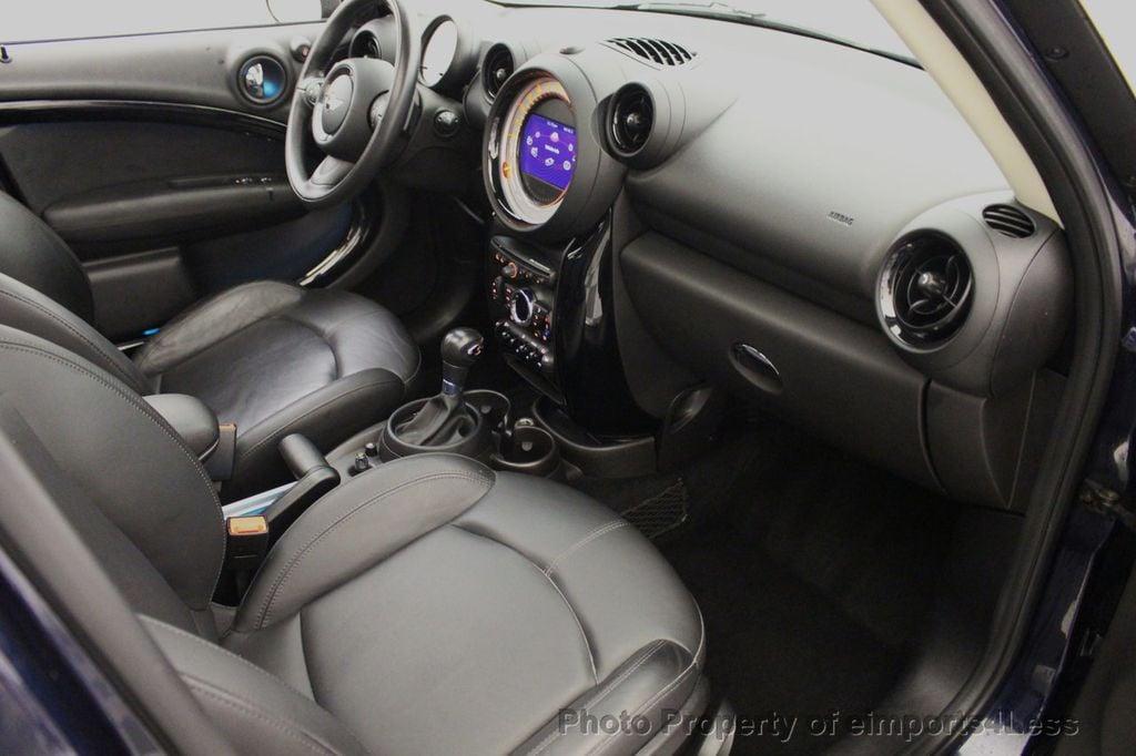 2013 MINI Cooper S Countryman CERTIFIED COUNTRYMAN S ALL4 AWD LEATHER PANO NAVI - 18104445 - 38