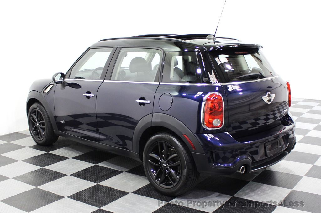 2013 MINI Cooper S Countryman CERTIFIED COUNTRYMAN S ALL4 AWD LEATHER PANO NAVI - 18104445 - 45