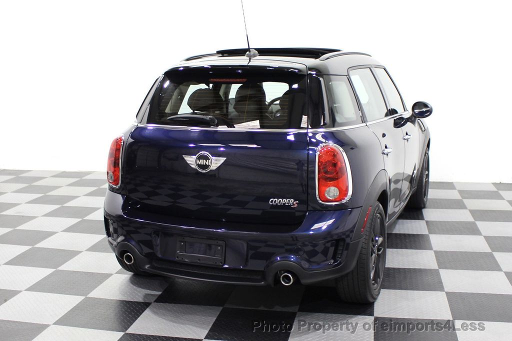 2013 MINI Cooper S Countryman CERTIFIED COUNTRYMAN S ALL4 AWD LEATHER PANO NAVI - 18104445 - 46
