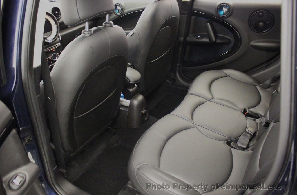 2013 MINI Cooper S Countryman CERTIFIED COUNTRYMAN S ALL4 AWD LEATHER PANO NAVI - 18104445 - 49