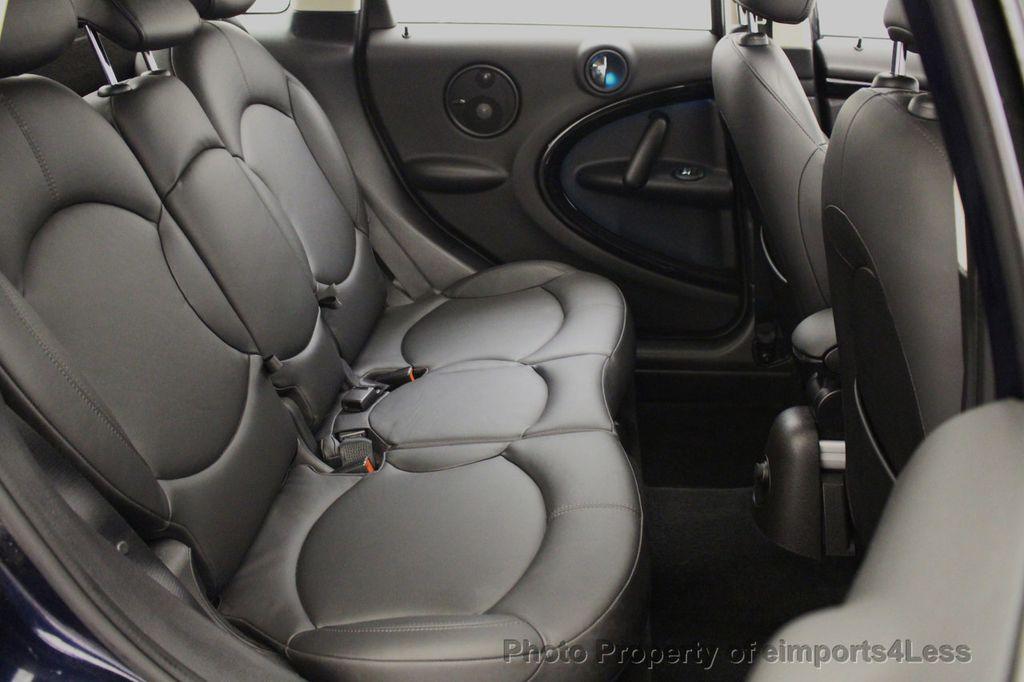 2013 MINI Cooper S Countryman CERTIFIED COUNTRYMAN S ALL4 AWD LEATHER PANO NAVI - 18104445 - 50