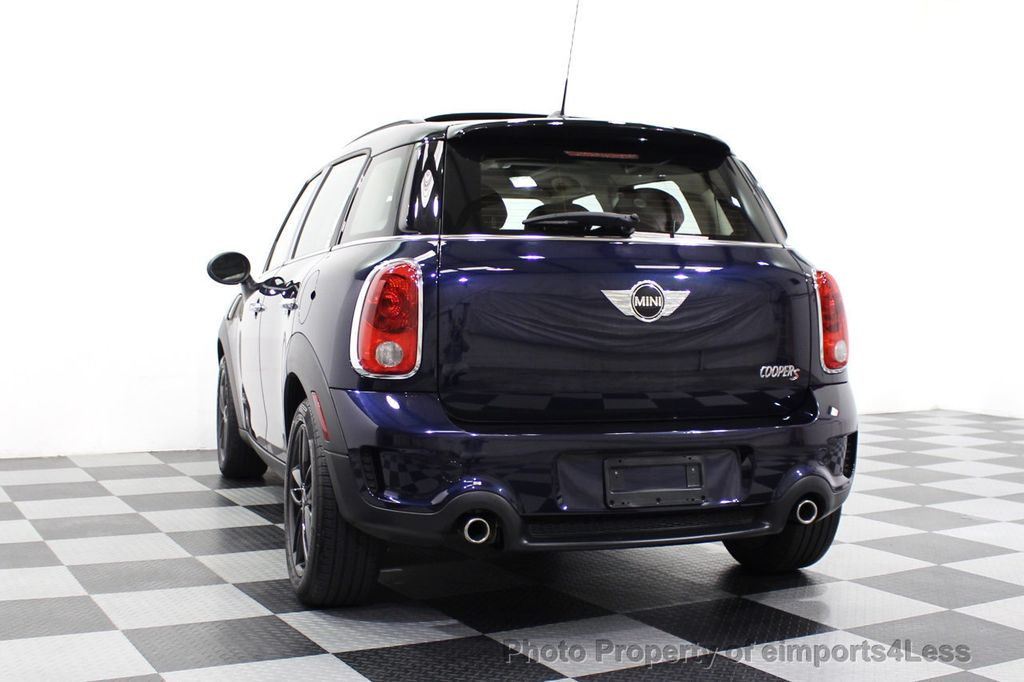 2013 MINI Cooper S Countryman CERTIFIED COUNTRYMAN S ALL4 AWD LEATHER PANO NAVI - 18104445 - 52