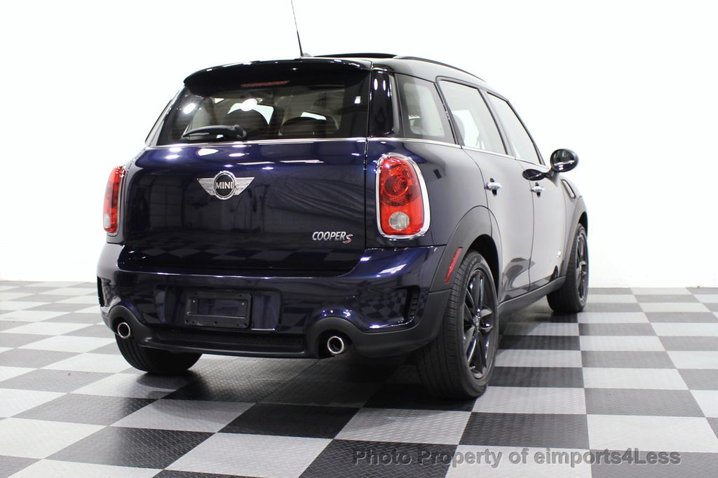 2013 MINI Cooper S Countryman CERTIFIED COUNTRYMAN S ALL4 AWD LEATHER PANO NAVI - 18104445 - 53