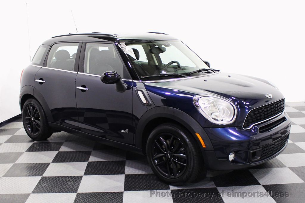 2013 MINI Cooper S Countryman CERTIFIED COUNTRYMAN S ALL4 AWD LEATHER PANO NAVI - 18104445 - 54