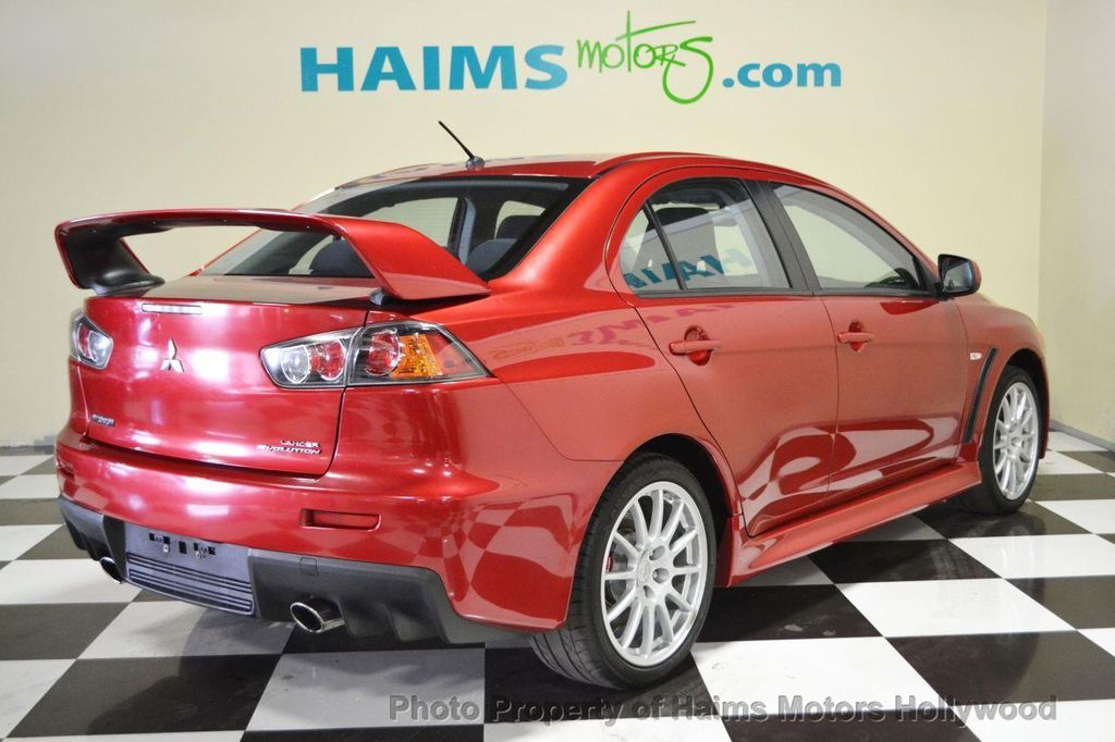 Elegant 2013 Mitsubishi Lancer Evolution 4dr Sedan Manual GSR   13754411   3