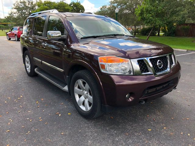2013 Nissan Armada 2WD 4dr SL - Click to see full-size photo viewer