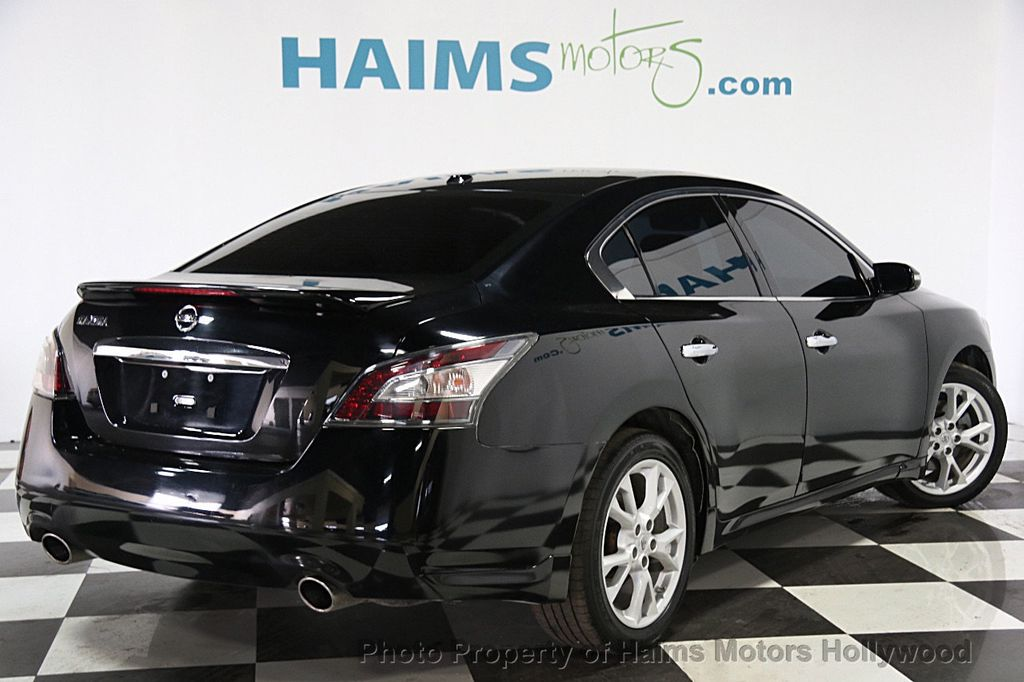 2013 used nissan maxima 4dr sedan 3 5 sv at haims motors serving fort lauderdale hollywood. Black Bedroom Furniture Sets. Home Design Ideas