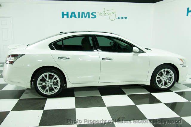 2013 Used Nissan Maxima 4dr Sedan 35 Sv Wpremium Pkg At Haims