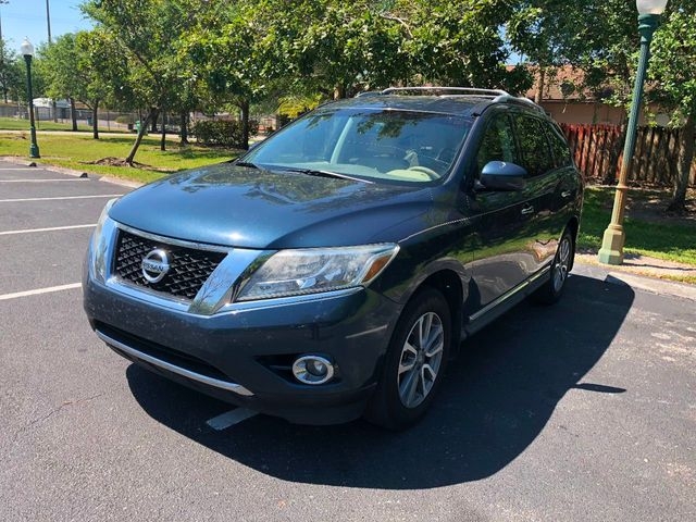 2013 Used Nissan Pathfinder 2wd 4dr Sv At A Luxury Autos Serving