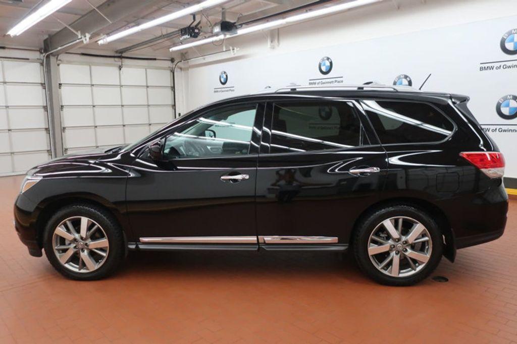 2013 Used Nissan Pathfinder 4wd 4dr Platinum At Bmw Of Gwinnett