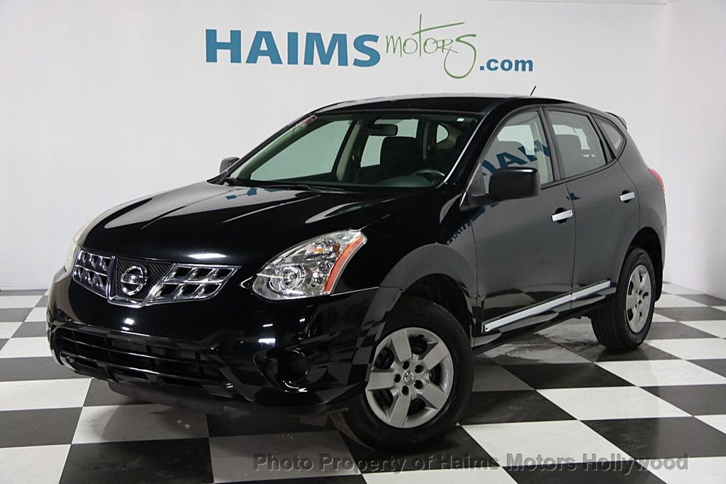 2013 used nissan rogue fwd 4dr s at haims motors serving fort lauderdale hollywood miami fl. Black Bedroom Furniture Sets. Home Design Ideas