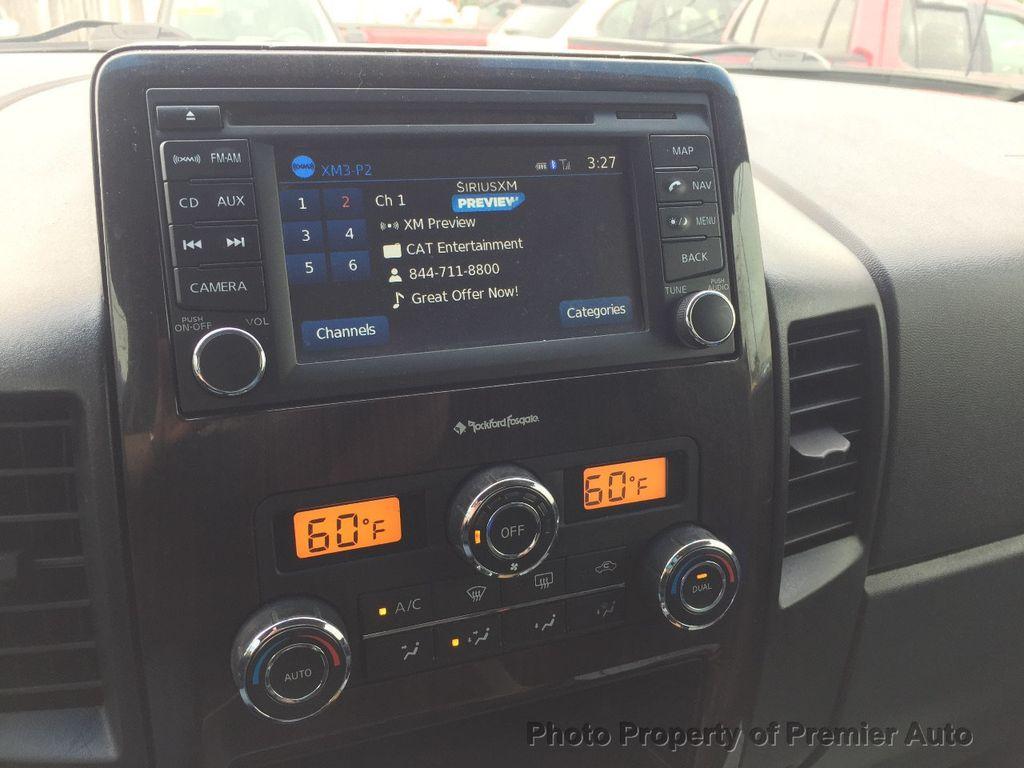 2013 Nissan Titan 4WD Crew Cab SWB SL - 16676262 - 13